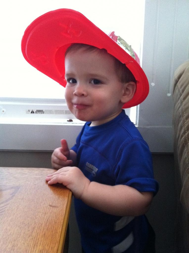 Fireman hat by coachallam