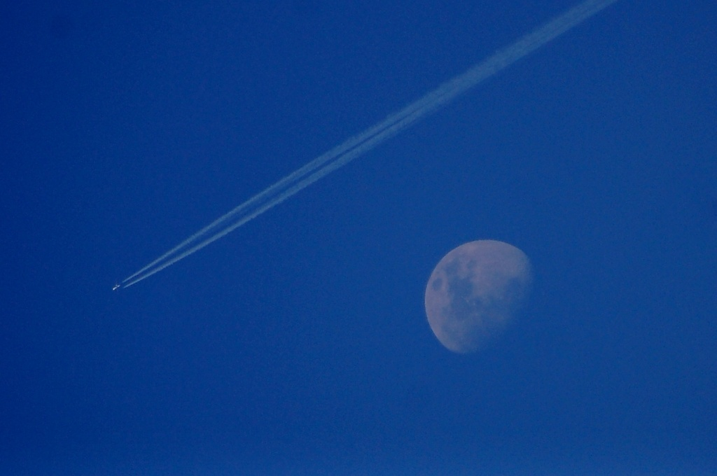 Fly Me To The Moon by andycoleborn