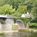 The toll bridge at Whitney-on-Wye. by snowy