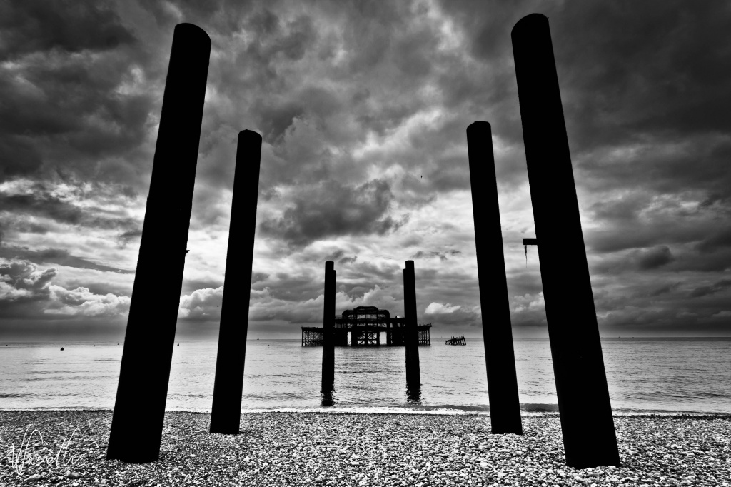 West Pier ahead by vikdaddy