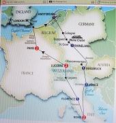27th Apr 2010 - Trafalgar European Whirl 2010