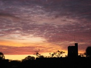 25th Aug 2011 - sunset over the church
