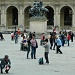 Just for fun: Busy tourists in front of the Louvre by parisouailleurs