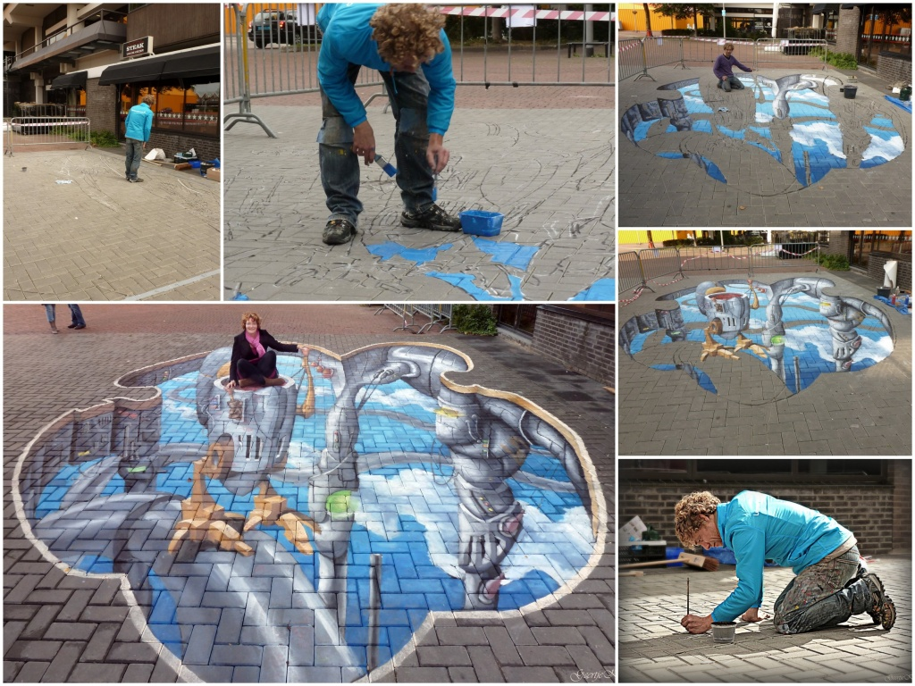The making of art by geertje