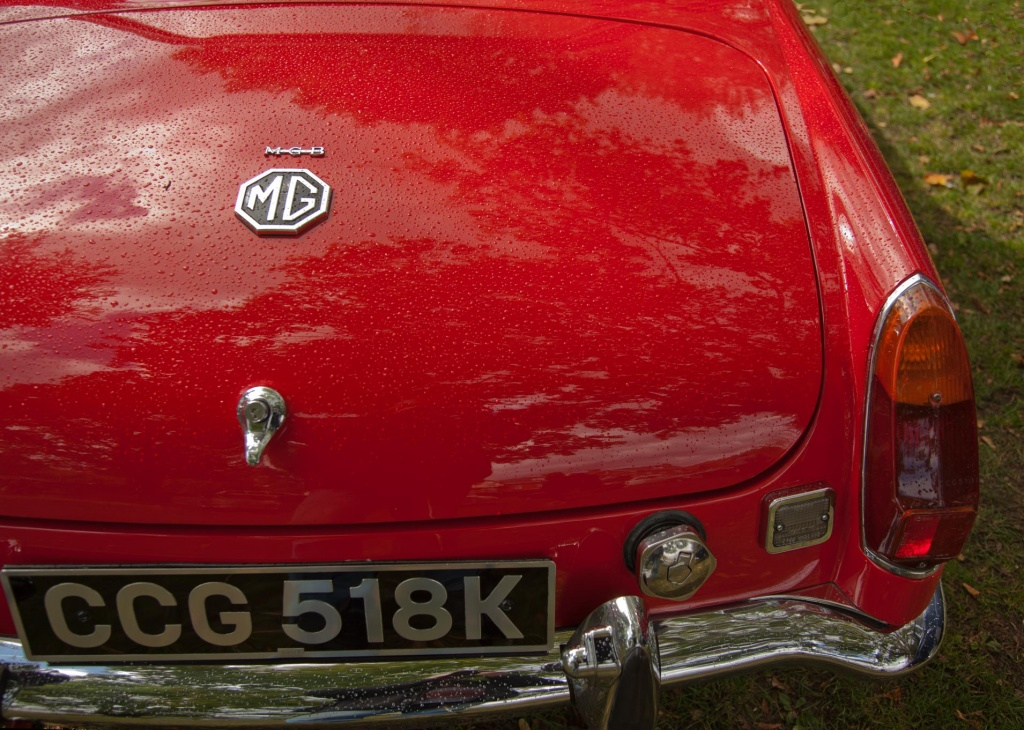 Classic Car - The MGB by netkonnexion