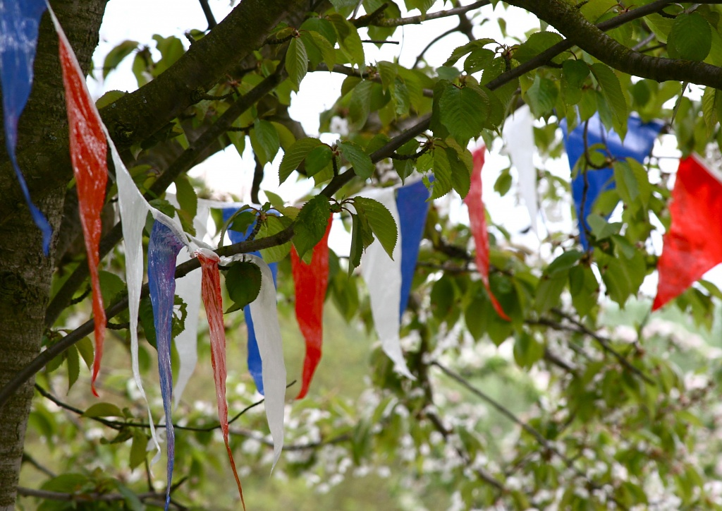The Village Bunting by helenmoss