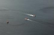 22nd Sep 2011 - third three photo - three launches carrying cruise ship passengers