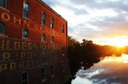 27th Sep 2011 - Sunset over the Piscataquis River