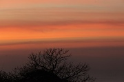 28th Sep 2011 - sunset sky series- silhouette and striations