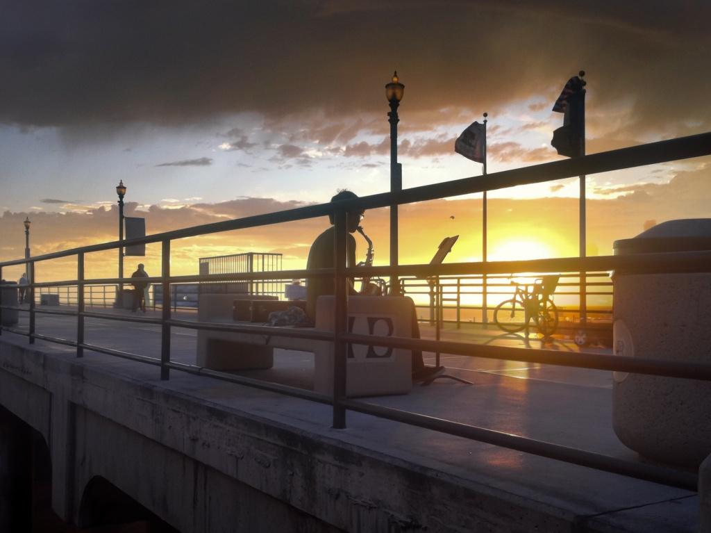 Sunset Stage by bradsworld