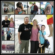 2nd Oct 2011 - Gabe, Kat & Riley - Home From Their Travels Safe & Sound