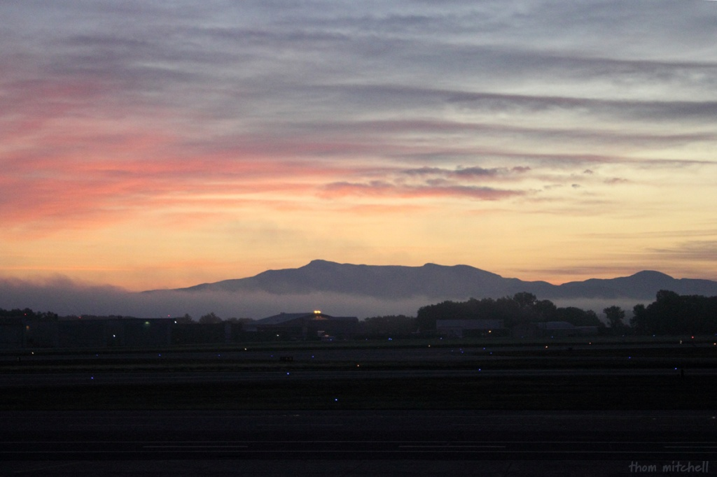 Sunrise at BTV… by rhoing