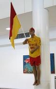 3rd Oct 2011 - Surf Life Saver on Pillar at Brisbane International Airport