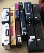 7th Oct 2011 - Selection of Gabe's Guitars