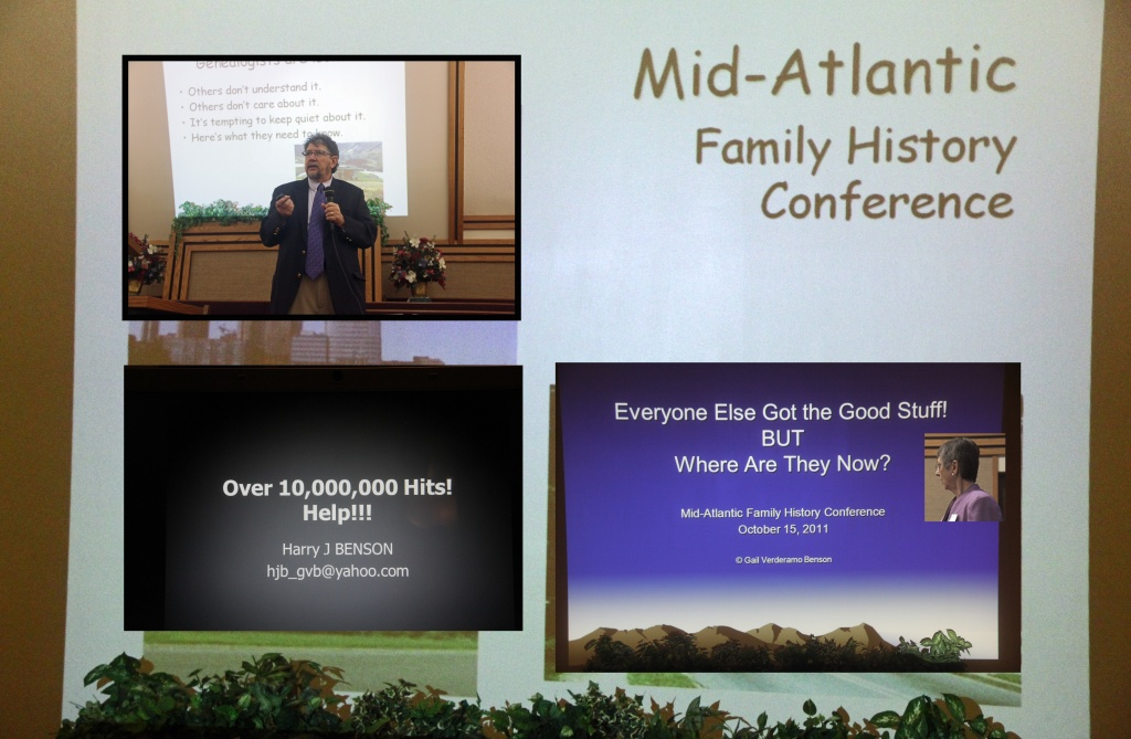 2011 Mid-Atlantic Family History Conference by hjbenson