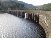 2nd Oct 2011 - The road bridge over the reservoir.