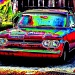 Red Corvair by flygirl