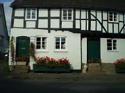 16th Oct 2011 - Black & white cottages.
