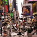 pigeons on times square by iiwi