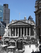 6th May 2010 - Then and now 2:  The Royal Exchange