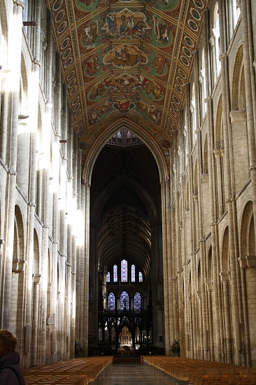 Inside Ely Cathedral by jennywren
