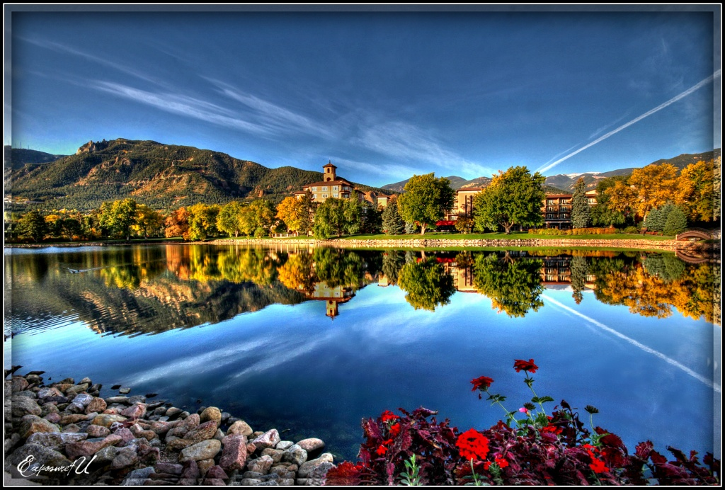Reflections at the Broadmoor by exposure4u