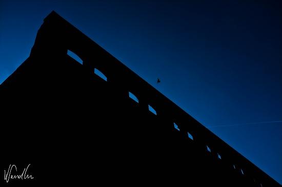 Sneinton silhouette by vikdaddy