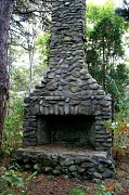 25th Oct 2011 - Fireplace in the Woods