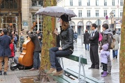 1st Nov 2011 - Place Colette A Beautiful Rainy Day In Paris