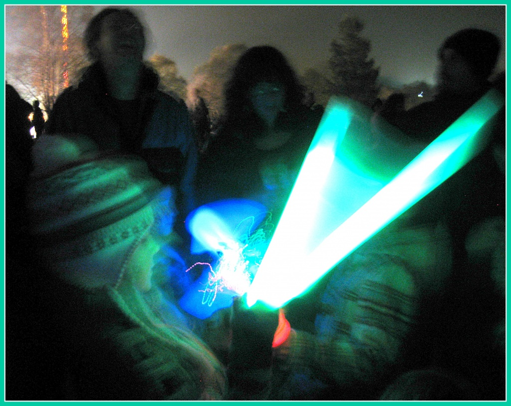 Light sticks by sarahhorsfall