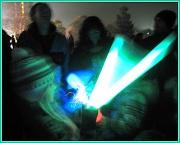 5th Nov 2011 - Light sticks