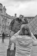 8th Nov 2011 -  The Louvre Is More Than A Building To House Art... It Is A Playground For The Photographer.