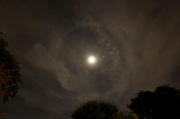 10th Nov 2011 - Moon, Jupiter and Clouds