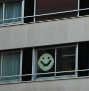 15th Nov 2011 - Just for fun: The smiling window