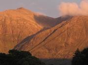 21st Aug 2011 - Setting sunshine on Glen Coe