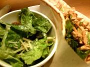 15th Nov 2011 - Caesar Salad and Chicken Wrap 11.15.11