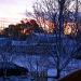 Sunrise on snowy morning by bruni