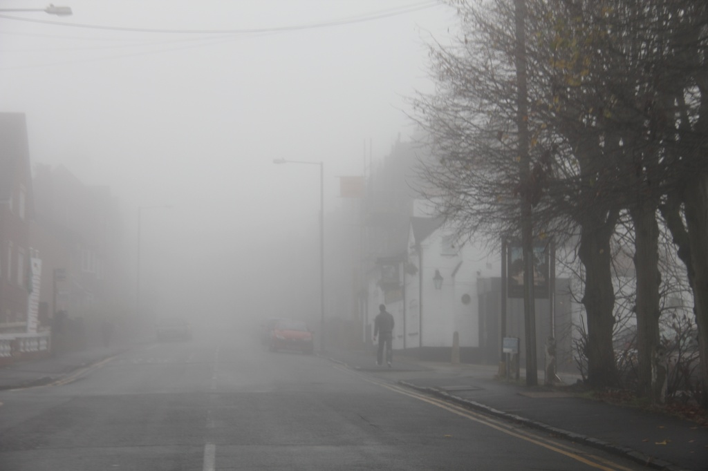 Man In The Mist by daffodill