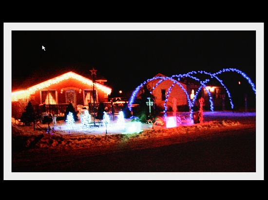 Christmas lights  by bruni
