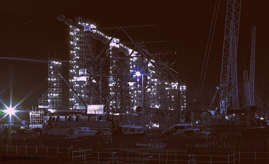 Giant's Meccano Set by bmnorthernlight