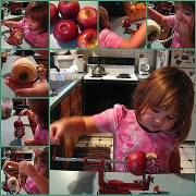 28th Nov 2011 - Making Applesauce With Cloe