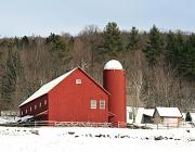 2nd Dec 2011 - Red Barn in Winter
