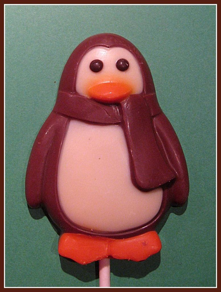 Choccie penguin by sarahhorsfall