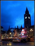 6th Dec 2011 - Christmas lights in Albert Square, Manchester