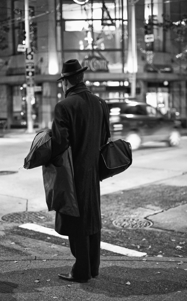 Man In Black by seattle