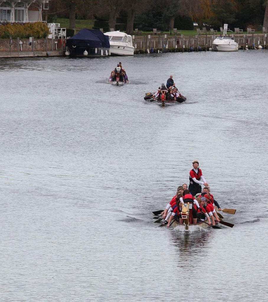 Racing Up River by netkonnexion