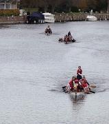 9th Dec 2011 - Racing Up River