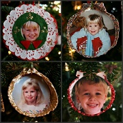 13th Dec 2011 - My Four Favorite Ornaments