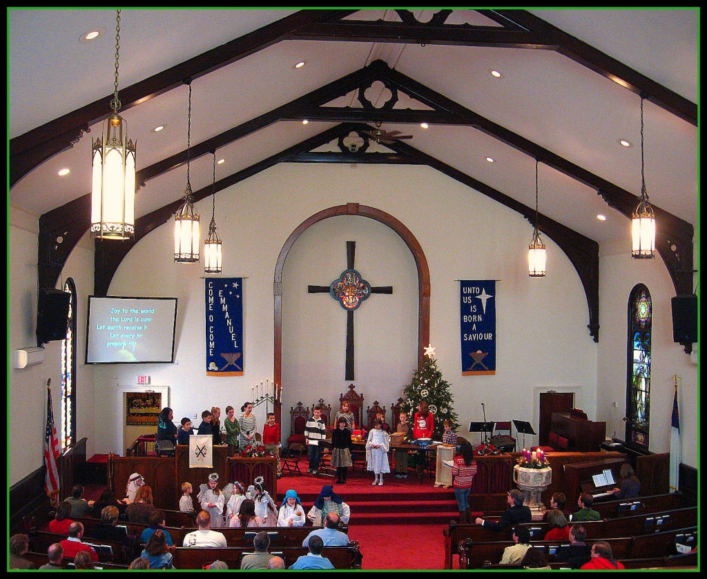 Children's Christmas Pageant by olivetreeann