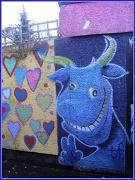 16th Dec 2011 - Graffitti blue